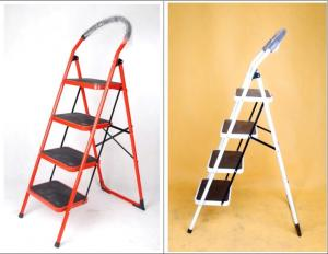 China Stainless Steel Anti Slip 3 Step Telescopic A Frame Step Ladder wholesale