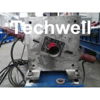 Buy cheap Round Downspout Machine with Hydraulic Cutting / Downspout Roll Forming Machine from wholesalers