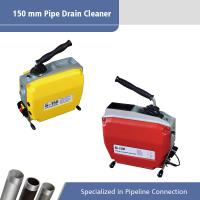 Buy cheap 150 MM Sectional Electric Drain Cleaner / Electric Pipe Cleaning Machine from wholesalers