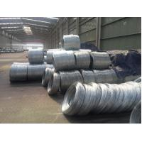 China Q195 hot dip galvanized steel wire to make barbed wire , HIGH strength wholesale