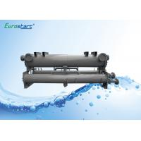 China Square Plate Type Chiller Heat Exchanger Water Cooled Condenser Double Circuits on sale