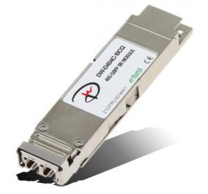 China 40G QSFP+ LR4,10 km on a standard sm fiber, Optic Module wholesale