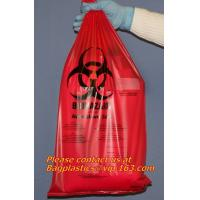 China Clinical supplies, biohazard,Specimen bags, autoclavable bags, sacks, Cytotoxic Waste Bags wholesale