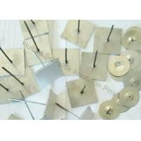 China 25x25mm Base Rockwool Self Adhesive Insulation Pins For Havc System wholesale