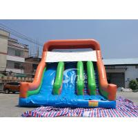 China New Heavy Duty Vertical Rush Inflatable Pool Slides For Inground Pools From China wholesale
