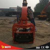 Buy cheap excavator Hydraulic wet land, soft land excavator pile driver , pile extractor, from wholesalers