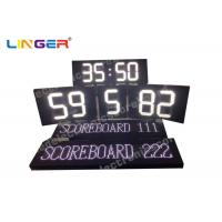 China White Color Polo Sport LED Electronic Scoreboard With Team Name wholesale