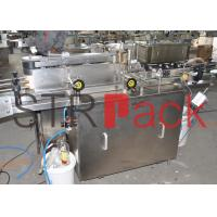 Quality Wine vial Wet glue labelling machine for glass plastic  PET bottle for sale
