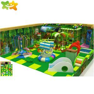 China Adventure Park Children Playground Equipment Indoor Baby Soft Play Area wholesale