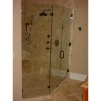 China Shower Enclosure/ shower cabin with shower tray on sale