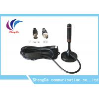 Buy cheap 30dBi Sucker Whip VHF UHF Digital Antenna RG174 Coaxial Cable ROHS Approval from wholesalers