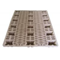 Buy cheap Eco - Friendly Waste Paper Pulp Pallet Molded Single Faced Style from wholesalers