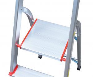 China Anti Slip 1.88m 7 Step Aluminium Telescopic Ladder wholesale