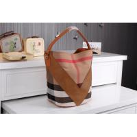 China Wholesale 2014 New designer fashionable womens b-urberry women leather grid branded bags wholesale
