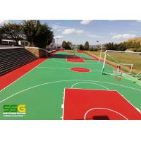 Buy cheap SPU Silicone Polythane Tennis Court Surfacing with ITF Approval from wholesalers