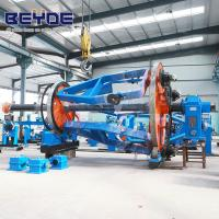 China Aerial Bundled Cable Wire Laying Up Machine Capstan Gear Speed 27 Stage wholesale