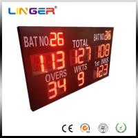 China Reliable Performance Electronic Cricket Scoreboard With Wide Viewing Angle wholesale