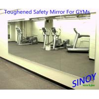 China GYMs Processed Mirror Glass , decorative wall mirrors Water resistance on sale