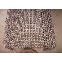 China Construction Mine 16mesh 0.55mm 24SWG Crimped Wire Mesh wholesale