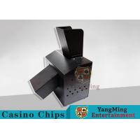 Black Automatic Casino Game Accessories For Cutting Off Broken Poker Cards for sale