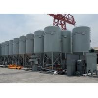 China Corrugated Steel Cement Storage Silo Vertical Bolted Assembly For Construction wholesale