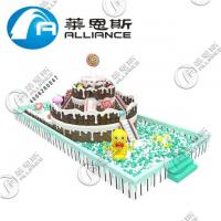 Buy cheap Special Design PVC Inflatable Cake Indoor Paradise Inflatable Jumping Bouncer from wholesalers
