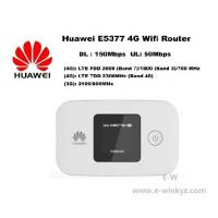 Buy cheap Original Unlock LTE FDD 150Mbps HUAWEI E5377 4G wireless Router With Sim Card from wholesalers