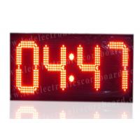 China High Brightness Large Stopwatch Clock With Hanging Brackets CE / ROHS Approved wholesale