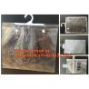 China Custom Made Clothes Underwear PVC Packaging Bag with Hook Display Bikini Swimwear Bag,Environmental Material pvc swimwea wholesale