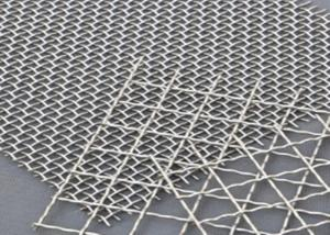 China 0.5MM Mine Double Stainless Steel Crimped Wire Mesh wholesale