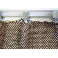 China Durable Metal Coil Curtain For Restaurant Interior Decoration With Accessories wholesale
