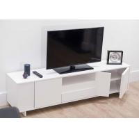 China Classic Modern TV Stand Furniture With MDF White Color 47cm Height / 39.5cm Width wholesale