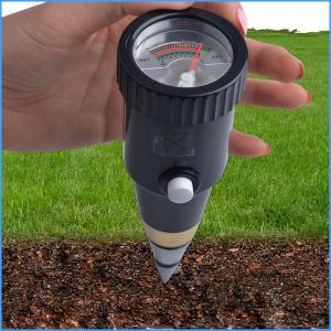 China Portable Digital Soil Fertility Meter For Flower / Weeds , 160mm X 50mm on sale