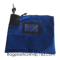 Buy cheap Locking Security Money Bag, Cash Bag,Bank Bag Canvas Keyed Security,Money Bag from wholesalers