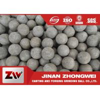 Quality Low Broken Rate Sag and AG Mill Grinding Media Balls / Forging Steel Balls wholesale