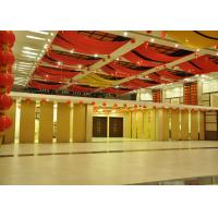 China Veneer Commercial Folding Office Partition Walls Sealing Edges On The Inside wholesale