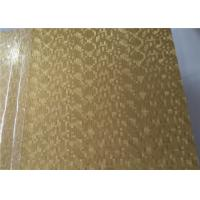 China Information Board Embossed Aluminum Sheet High Hardness Good Welding Ability on sale