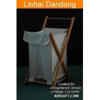 China Canvas Laundry Bag with Cover wholesale
