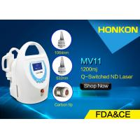 China Mini Size Q Switched ND YAG Laser Tattoo Removal Machine With Water Cooling wholesale