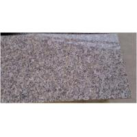 China Commercial Honed Granite Stone Tiles , Brown Granite Floor Tiles wholesale