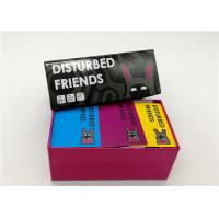 China Multi Styles Disturbed Friends Party Game Group Card Games For Adults wholesale
