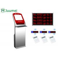 Quality Digital Signage Queue Ticket Dispenser Machine Led Counter Display for sale