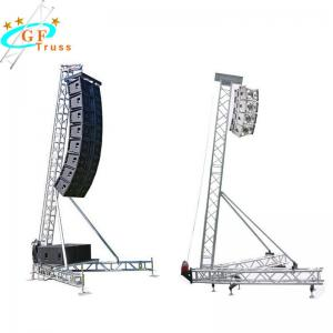 China Outdoor Activities 12M Aluminum Spigot Truss 50*3mm Main Tube wholesale