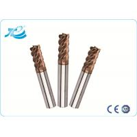China 60 Degree Hardness Tungsten Steel Square End Mill With 1mm - 25 mm Diameter wholesale
