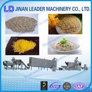 China Cost-saving Shandong China Nutrition Rice Golden Rice process line wholesale