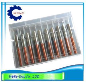 China M8x1.25 EDM Tungsten Copper Tapper Electrodes ( CuW) For EDM Spark Machine wholesale