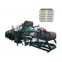 Buy cheap 3 Phase 1200mm Automatic Continuous Sandwich Panel Line With High - Efficiency from wholesalers