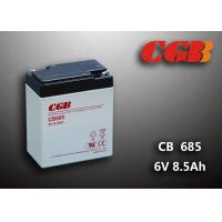 China 6V 8.5AH Gray AGM Sealed Lead Acid Battery CB685 For UPS / Medical Equipment wholesale