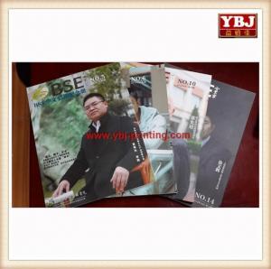 China Fancy custom made A4 folded leaflet magazine printing on sale
