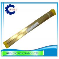 China 1.0x400mmL Double Channel EDM Eletrode Pipe/ Brass Tube For EDM Drilling Machine wholesale